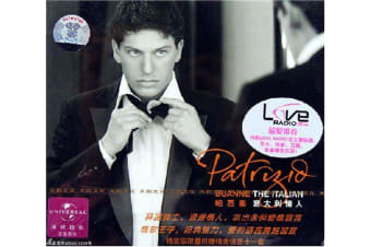 Patrizio: Italian Lovers ( Hardcover Edition) BRAND NEW SEALED MUSIC ALBUM CD