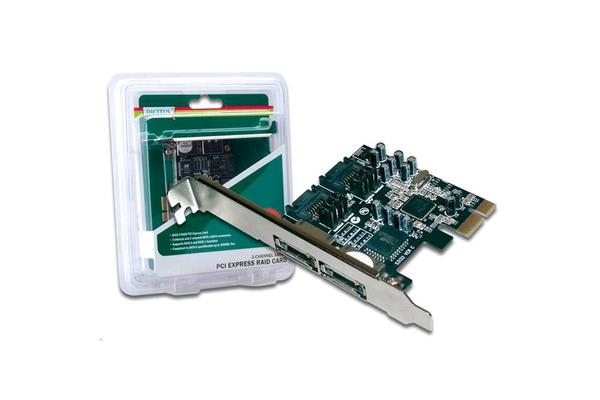 Digitus PCIE SATA II 300 Raid card 2-Port w/LP