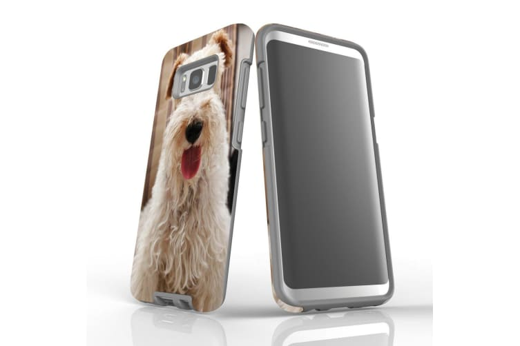 For Samsung Galaxy S8 Case Armour Cover  Tongued Out Wire Haired Foxy