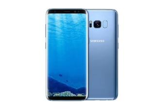Samsung Galaxy S8+ (64GB, Coral Blue) - Pre-owned