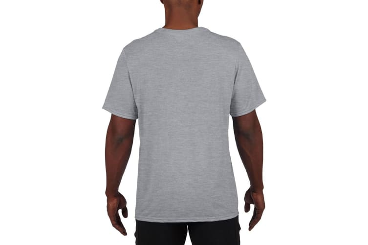 Gildan Mens Core Performance Sports Short Sleeve T-Shirt (Sport Grey) (2XL)