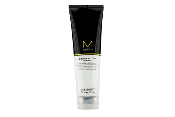 Paul Mitchell Mitch Double Hitter Sulfate-Free 2-in-1 Shampoo & Conditioner (250ml/8.5oz)
