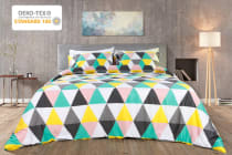 Trafalgar 400TC 100% Cotton Pexego Cotton Quilt Cover Set