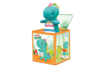 Schylling - Baby Dino Jack In Box