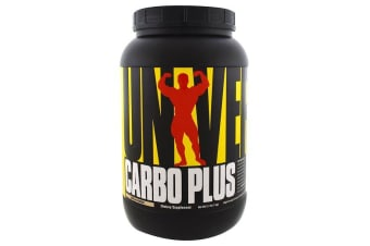 Universal Nutrition Carbo Plus High-Energy Complex Carbohydrate Drink Mix Unflavored - 1kg