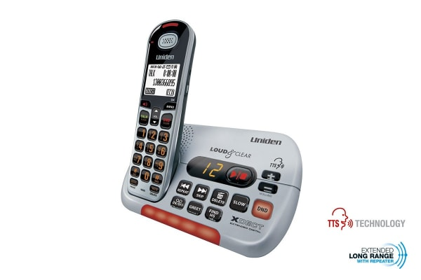 Uniden Visual and Hearing Impaired Cordless Digital Phone System