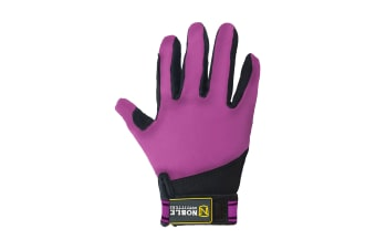 Noble Outfitters Childrens/Kids Perfect Fit Glove (Blackberry)