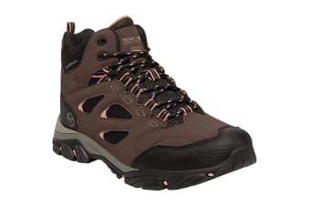 Regatta Womens/Ladies Holcombe IEP Mid Hiking Boots (Indian Chestnut/Cameo) (4 UK)