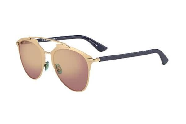 Christian Dior Reflected 52mm - Rose Gold Blue (Gold Shaded Mirror lens) Womens  Sunglasses - Kogan.com 80746709fe