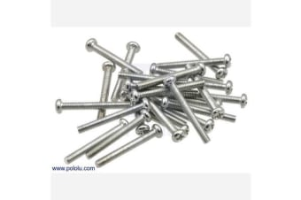 Machine Screw: M3, 25mm Length, Phillips (25-pack)