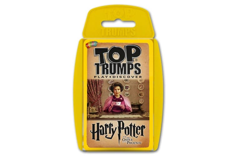 Top Trumps: Harry Potter and the Order of the Phoenix