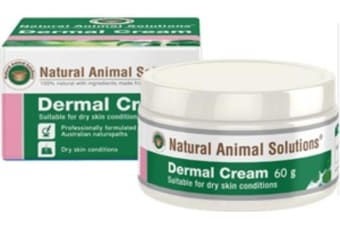 NAS Dermal Cream for Dogs, Cats & Horses (60g) Natural Animal Solutions