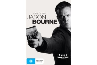 Jason Bourne DVD Region 4