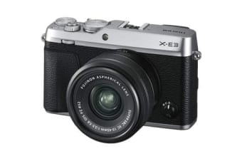 New Fujifilm X-E3 24MP (15-45) Kit Silver (FREE DELIVERY + 1 YEAR AU WARRANTY)