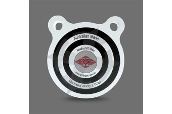 Sts 100Mm Round Shooting Gong Target