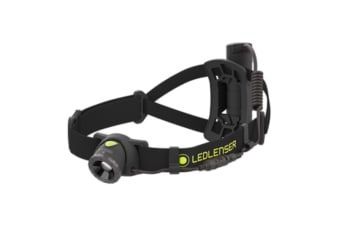 LED LENSER NEO10R Headlamp RECHARGEABLE 600 Lumens Head Torch BLACK