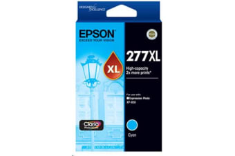 Epson 277XL High Cap Claria Photo HD Cyan Ink