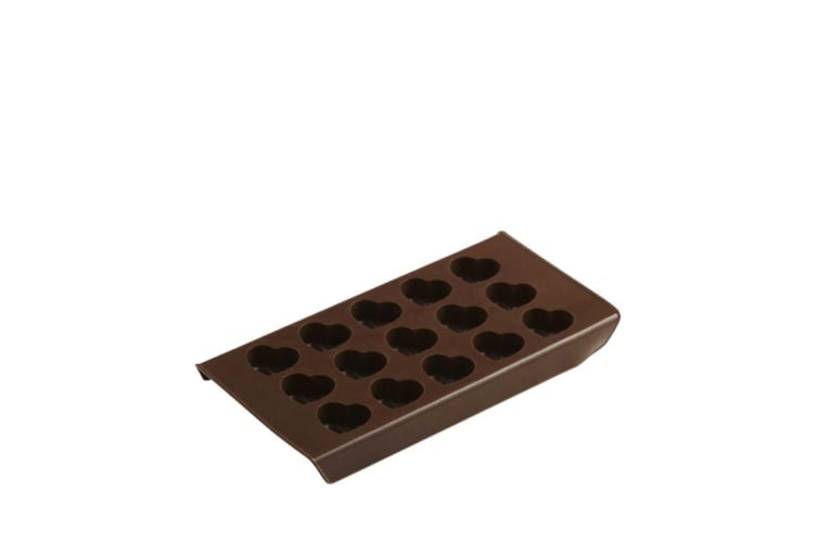 Davis & Waddell Essentials Hearts Chocolate Mould & Ice Tray