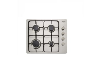 Euro Cooktop Gas 600mm Stainless Steel EV4BGSX