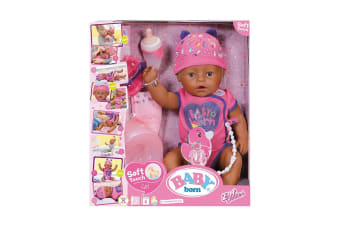 Baby Born Soft Touch Doll (Purple)