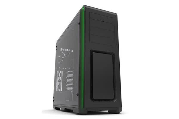 Phanteks Enthoo Luxe Full Tower Chassis Tempered Glass Windows Side