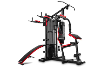 PROFLEX Home Gym Exercise Equipment Machine Fitness Weight Universal Bench Set