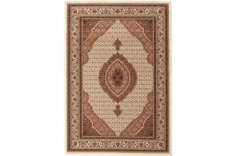 Stunning Formal Oriental Design Rug Cream 230x160cm