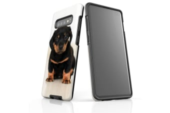 For Samsung Galaxy S10+ Plus Case  Armour Tough Cover  Puppy
