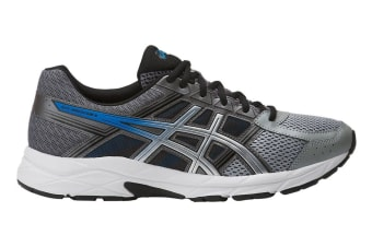ASICS Men's Gel-Contend 4 Running Shoe (Carbon/Silver, Size 7.5)