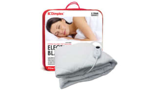 Dimplex Single Pillow Top Fitted Electric Blanket W/ Heater Overheat Protection