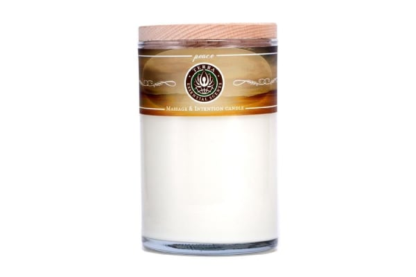Terra Essential Scents Massage & Intention Candle - Peace (12oz)