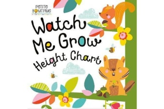 Petite Boutique - Watch Me Grow! Height Chart