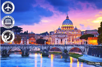 EUROPE: 17 Day European Spotlight Tour Including Flights for One, Two or Three