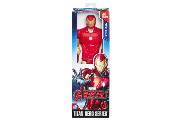 "Avengers Iron Man 12"" Titan Hero"