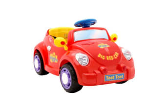 The Wiggles Ride On Car Big Red Car