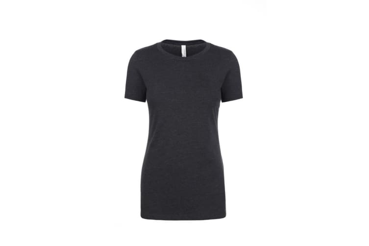 Next Level Womens/Ladies CVC T-Shirt (Charcoal) (M)