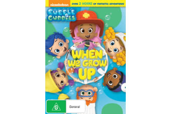 Bubble Guppies When We Grow Up DVD Region 4