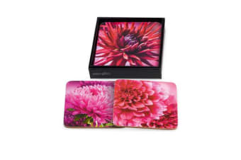 Ogilvies Designs Dahlia Delight Coasters Set of 6