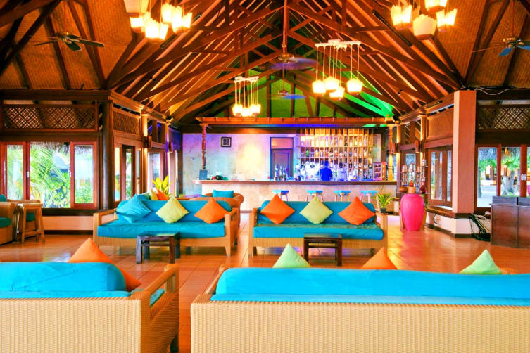 MALDIVES: 5 Nights All Inclusive at Olhuveli Beach & Spa Resort Including Flights For Two (Deluxe Water Villa)