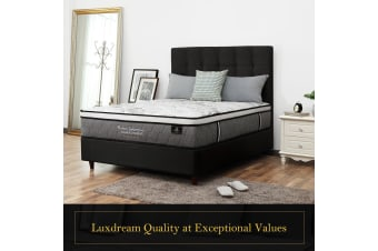 Luxdream Pocket Spring Mattress With 4-Layer Foam Top 33cm - Double
