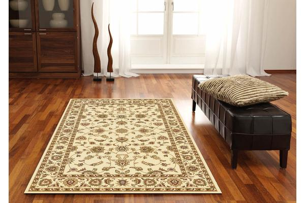 Classic Rug Ivory with Ivory Border 150x80cm