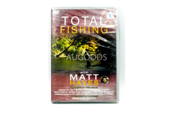 TOTAL FISHING with Matt Hayes - Series Region All Rare- Aus Stock DVD NEW