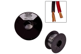 2 CORE 3MM x 30 METRES CABLE WIRE WIRING AUTOMOTIVE TRAILER CARAVAN TRUCK OWL