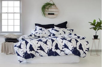 Apartmento Tahiti Quilt Cover Set (Queen)