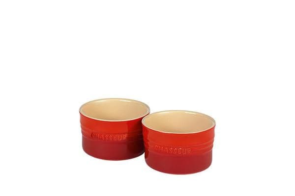 Chasseur La Cuisson Ramekin Set of 2 Red