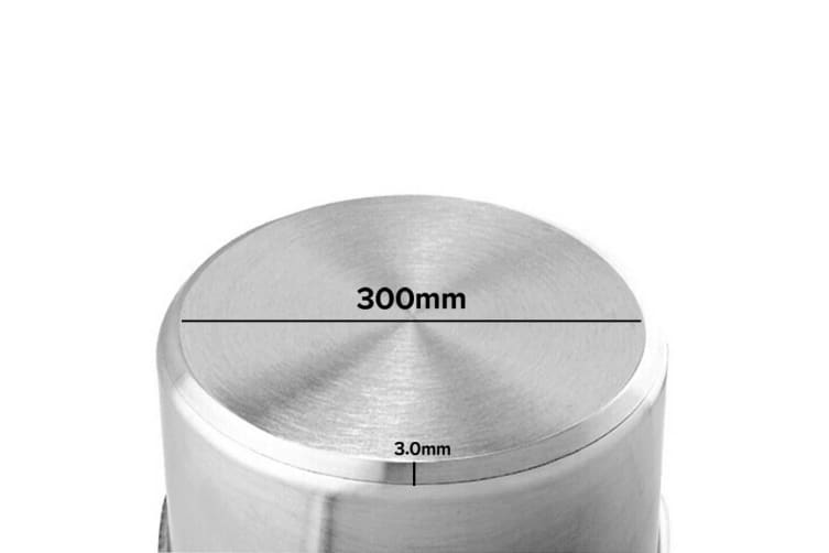 SOGA Stock Pot 14L Top Grade Thick Stainless Steel Stockpot 18/10 Without Lid
