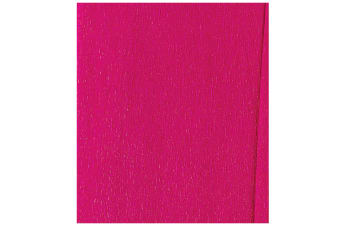 County Lightweight Crepe Paper (Pack Of 12) (Cerise)