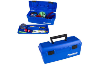 Flambeau 6009 Blue 'Lil Brute Fishing Tackle Box with Lift Out Tray