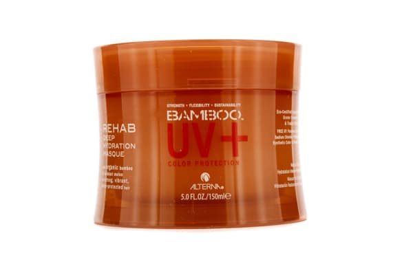 Alterna Bamboo Color Hold+ Color Protection Rehab Deep Hydration Masque (For Strong, Vibrant, Color Protected Hair) (150ml/5oz)