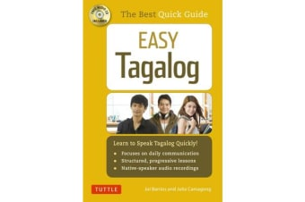 Easy Tagalog (with CD Rom) - Learn to Speak Tagalog Quickly and Easily!